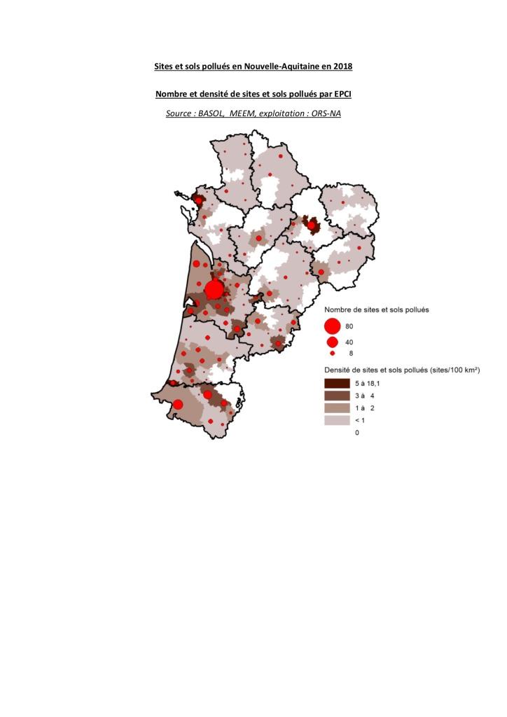 thumbnail of Sites et sols pollués 2018
